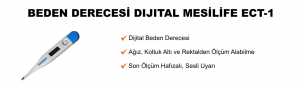 Dijital Beden Derecesi Mesilife - ECT-1