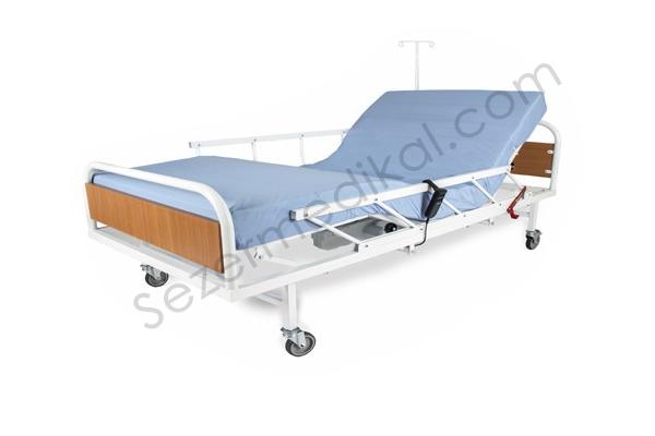 Wollex W327 2 Motorlu Elektrikli Hasta Karyolası